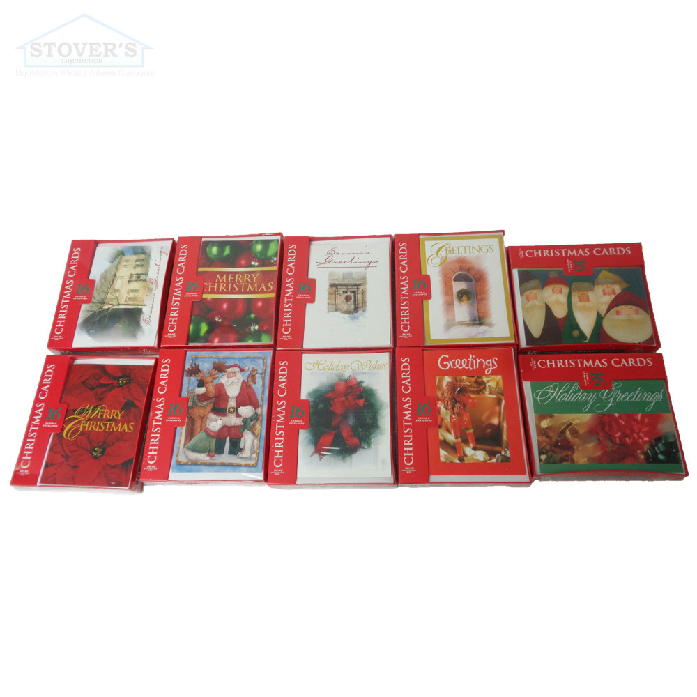 Paper Images Assorted Christmas Cards Box Of 320