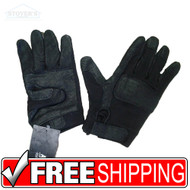 XXL Black ANSELL HAWKEYE KEVLAR COMBAT GLOVES Regular CUFF  Military Tactical