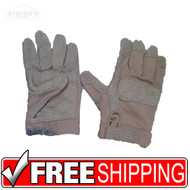 XXL TAN ANSELL HAWKEYE KEVLAR COMBAT GLOVES Regular CUFF  Military Tactical