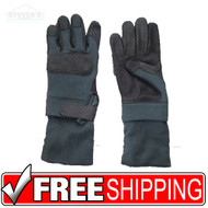 XXL ANSELL HAWKEYE KEVLAR COMBAT GLOVES EXTENDED CUFF Military Tactical