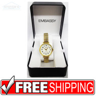 Women's Watch - White Embassy Gold