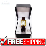 Women's Watch - Gruen Gold Rectangle