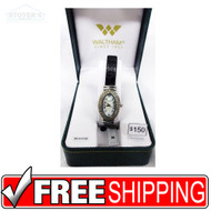 Women's Watch - Waltham Diamond and Silver Oval