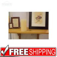New Golden Oak Wall Shelf 12 x 21 3/4