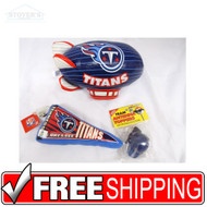 Lot of 3 Tennessee Titans NFL Souvenirs Windshield Ornament Antenna Topper Blimp