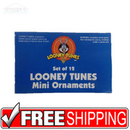 Mini Looney Tunes Christmas Ornaments