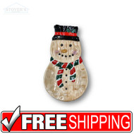 Christmas Ceramic Snowman Spoon Rest