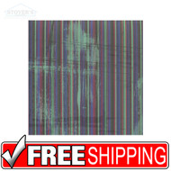 20 Sheets New Junkitz Winter Stripe Scrapbooking Paper Pages Supplies 12x12