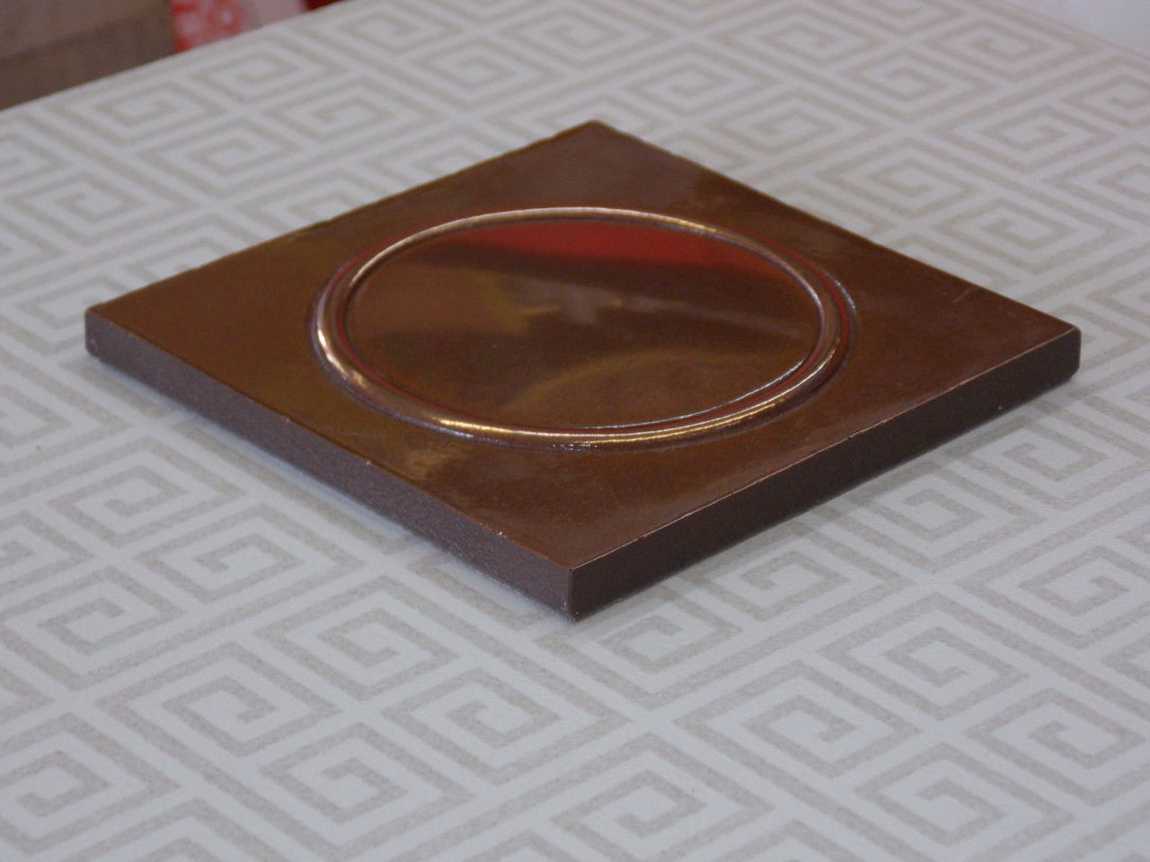 4x4 Deco Polished Copper Metal Look Rqdc0047003001