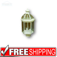 Post Lantern - 431042 - Three White