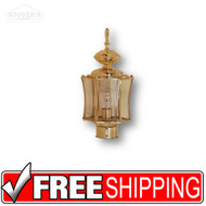 Post Lantern - 455203 - Brass