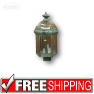 Post Lantern - 431037 - Brass