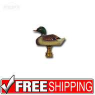 Lamp Finnials | Outdoors-Themed | Mallard Duck - Male