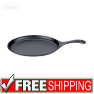 Oval Cast Iron Skillet | Fajita Pan with Handle