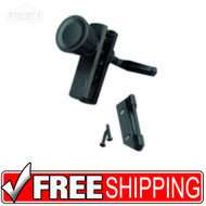 Wright Products International | V777BL | Door Latch Knob | Black