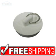 "Worldwide | Pmb-111 | Rubber Sink Stopper | 1-1/8"" To 1-1/4"""