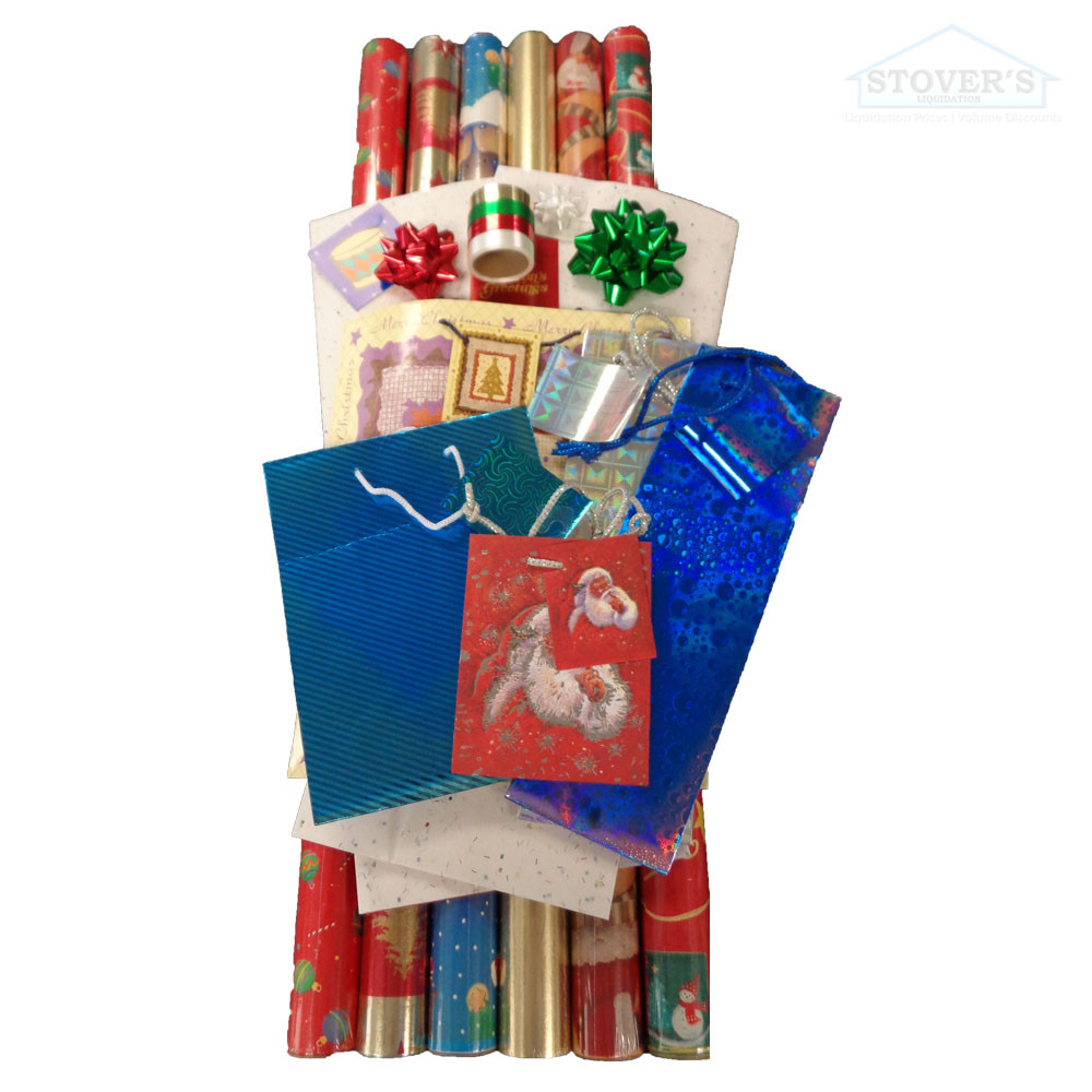 Wrapz | Gift Set | Wrapping Paper & Accessories Kit - Stover\'s ...