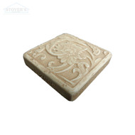 2x2 Deco | Metal Look Decos | Fabrege Insert Travertine | STND123030201
