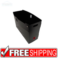 PortaFile | Portable File Organizer | Black | Box of 10 | Free Shipping