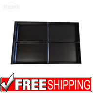 4-Panel Document Organizer | Black | Free Shipping
