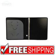 Three Ring Binder | Black | Free Shipping