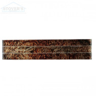 Chocolate Foil | Glass Deco | JC99083 | FOB Tennessee