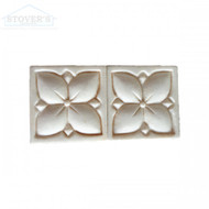 Crema Embossed 2x2 | Stone Deco | JC99043 | FOB Tennessee