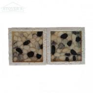 Carrara Pebbles 2x2 | Stone Deco | JC99041 | FOB Tennessee