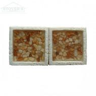 Crema Pebbles 2x2 | Stone Deco | JC99044 | FOB Tennessee