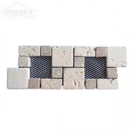 Noce Chiaro Component 4x10 | Stone Deco | RCL0002 | FOB Tennessee