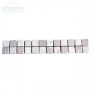 Chiaro Noce Checkerboard 2x12 | Stone Deco | 235540 | FOB Tennessee
