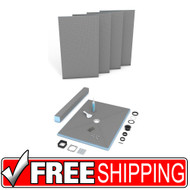 Shower Kit | wedi | Fundo Primo Shower Kit | 48x72 | Free Shipping
