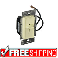 Lutron | Slide-To-Off Dimmer | Almond | Free Shipping