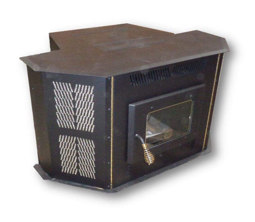 direct vent fireplace insert gdizc image amaizablaze corn stove model 4100 up to 50000 btus direct