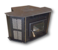 Amaizablaze Corn Stove - Model 4100 - Up to 50,000 BTU's - Direct Vent - Fireplace Insert or Freestanding