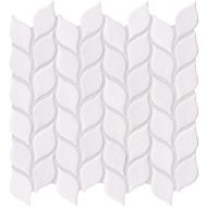 Vanilla Leaf Crackled Mosaics | Glass Mosaic | FOB TN |
