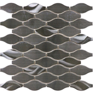 12x12 Metal Twist Stainless Steel Mosaic | Glass Mosaic | FOB TN |