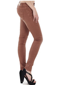 Candice Terracotta Colour Skinny Jeans luv2nv