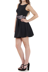 Tulisa Bow Front Skater Dress Luv2nv