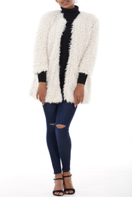 Amber Soft Faux Fur Coat Luv2nv