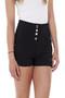 Dina High Waist 4 Button Shorts-Luv2nv.com