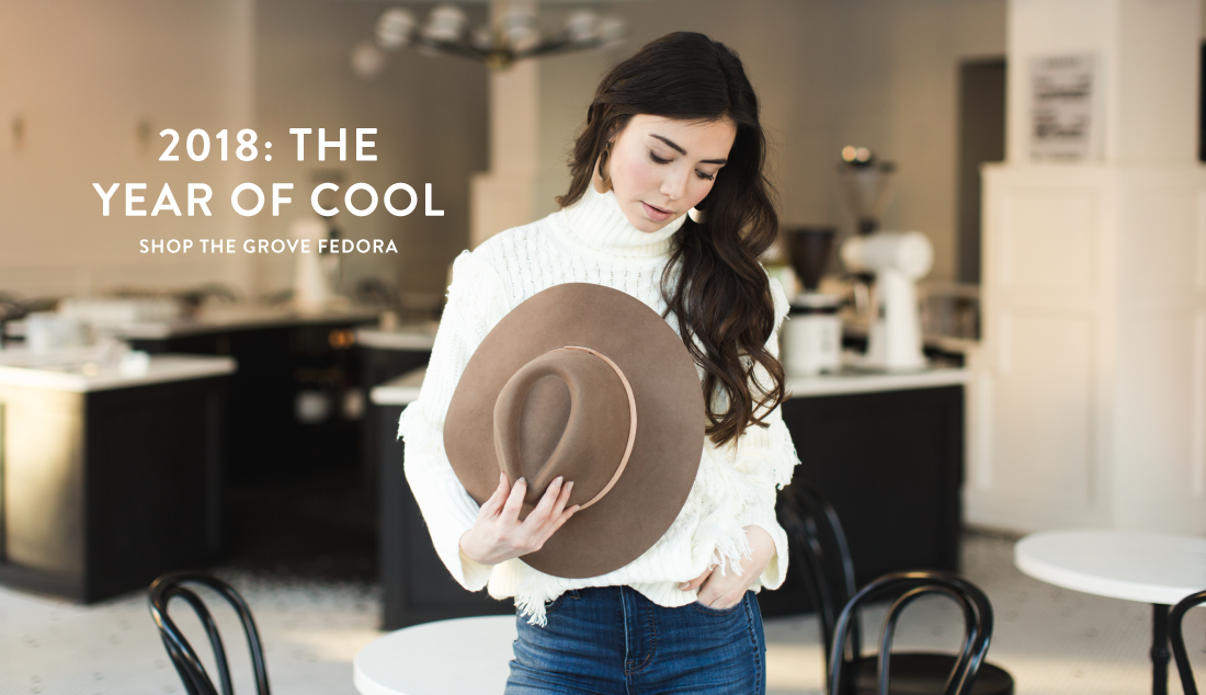 Shop the Grove Fedora from  Nickel & Suede