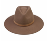 The Grove Fedora Nickel and Suede