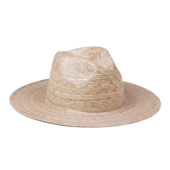 Palma Fedora Nickel and Suede