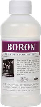 Boron liquid mini-minerals in 8 ounce bottle.
