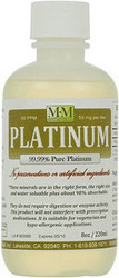 Platinum comes in 8, 16 and 128 ounce bottles.