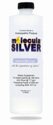 Molecula Silver comes in 16, 32 and 128 ounce bottles.