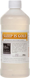 Sleep is Gold comes in a 16 ounce bottle.