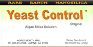 Yeast Control comes in a 9 ounce bottle.