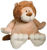 Personalised Embroider Buddy – Lion with a personalised teddy bear message
